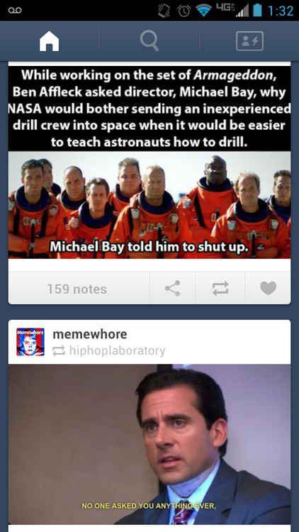 Michael bay is an asshole