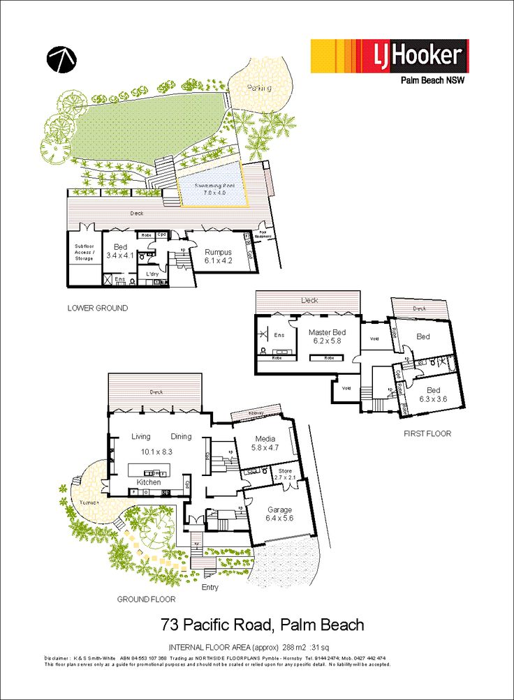 28/04/15 Palm Beach, NSW Sales Agents - David Edwards and Amethyst McKee LJ Hooker Palm Beach 02 9974 5999 #floorplans #floorplan #architecture #design
