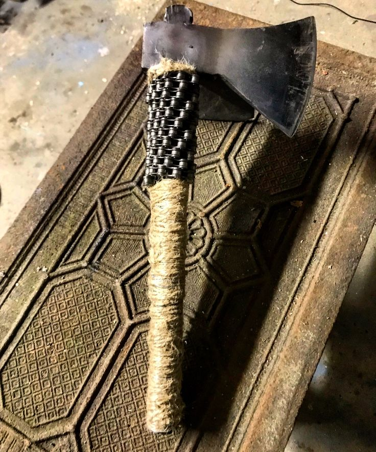 Finaly Done... heavy viking axe is done...