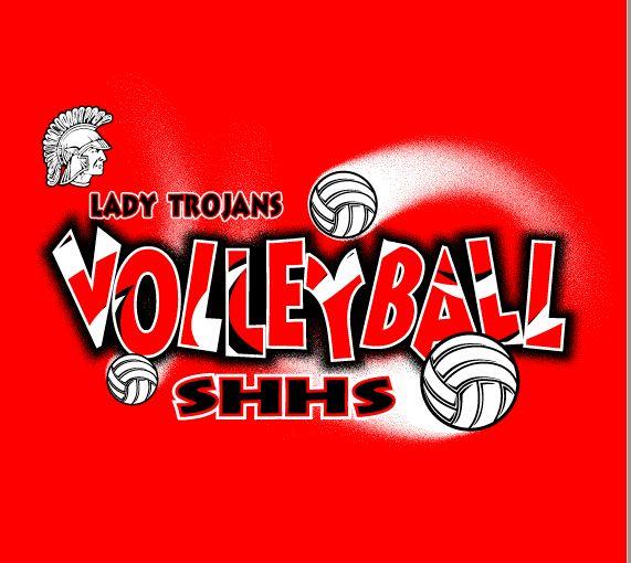 Volleyball Team Shirts Lady Trojan Volleyball