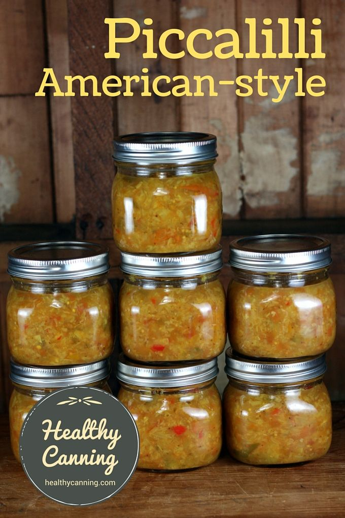 American-style-piccalilli