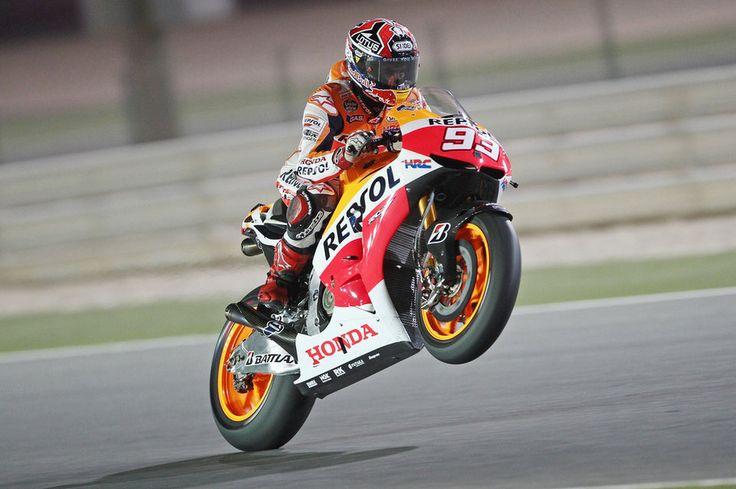 Marc Márquez, actual Campió del món de MotoGP.