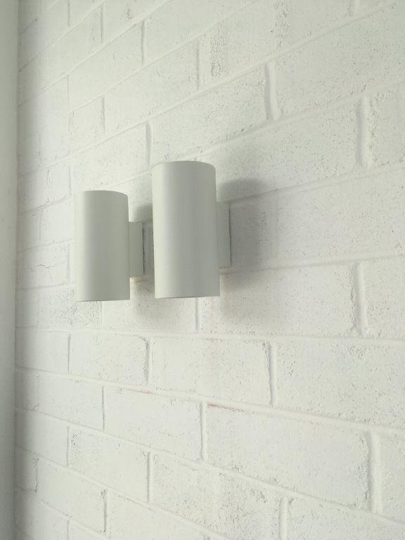 Flaminia dual LED internal/exterior wall lights