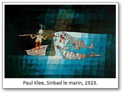 Paul Klee Sinbad le marin