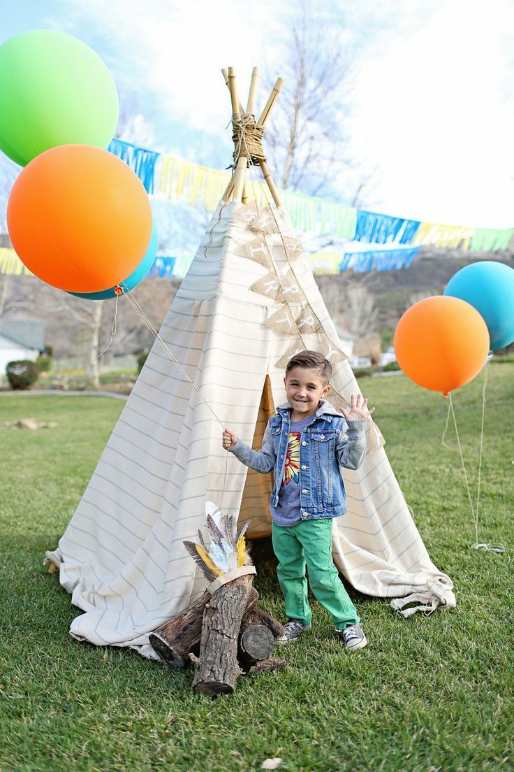 Pow wow party for Aiden :)