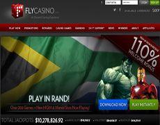 #OnlineCasinoAcceptingZARCurrency | #FlyOnlineCasino - #OnlineCasinos  Fly Casino is a brand new online casino accepting the ZAR currency. New South African online casino players can grab a R1, 500 bonus when they sign up for South African Rand (ZAR) casino account. www.onlinecasinosonline.co.za