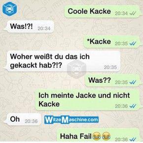 Lustige WhatsApp Bilder und Chat Fails 210 - Coole Kacke