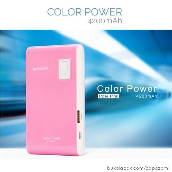 *** 18 months warranty *** Power Bank pinky lucu ini diproduksi oleh produsen aksesoris ternama Pisen. Bentuknya mungil dan sudah dibenamkan kapasitas baterai 4200mAh. Cuma 180 rb sis! Buat kamu gerlie, buruan diorder yuk  Online shopping: www.bukalapak.com/papazami  Fast Order: HP/WA/TG: 0815-1100-6400 BBM: 5E2E9F7F LINE ID: papazami  #pisen #powerbank #papazami #onlineshop