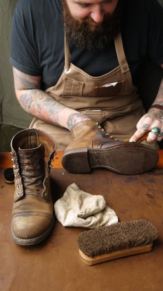 Gotta love a quality, crafted pair of leather boots.  #menswear