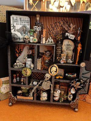 Tim Holtz Halloween configurations box