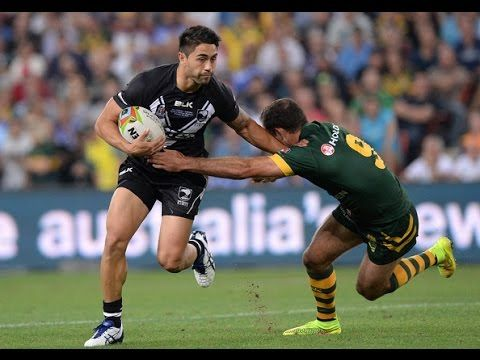 Rugby League Four Nations 2014: Australia vs New Zealand Highlights
