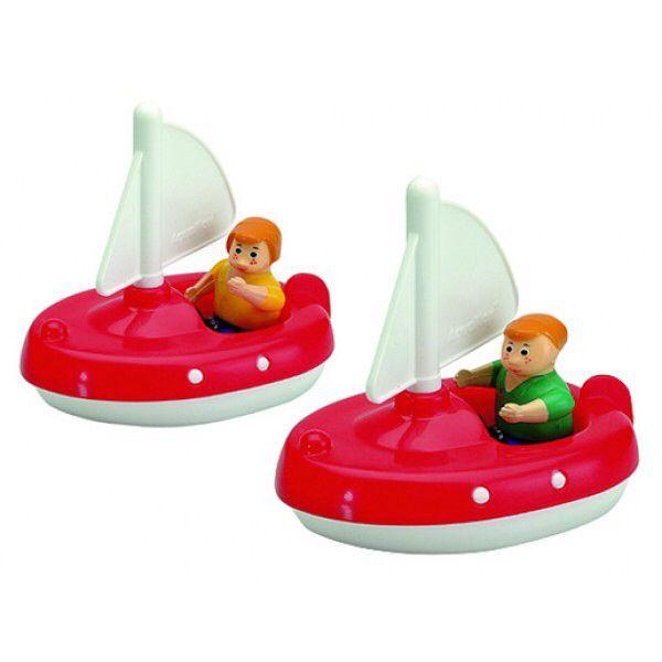 Aquaplay 2 zeilbootjes inclusief poppetjes