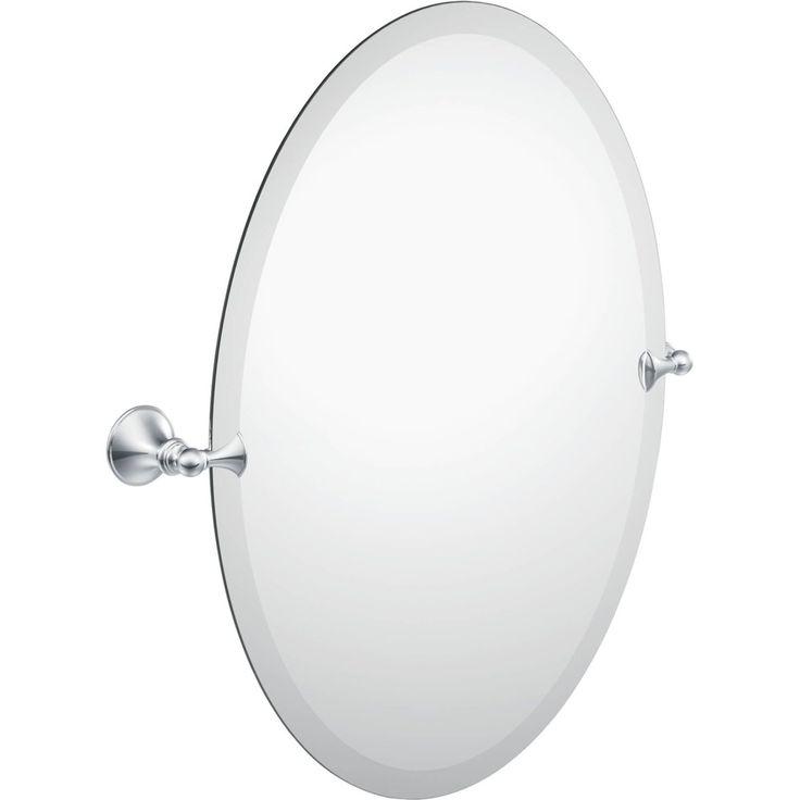 Moen Creative Specialties Csi Dn2692ch Glenshire Chrome Mirrors Wall Mount Bathroom Accessories