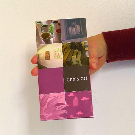 Ann's Art folder voorkant