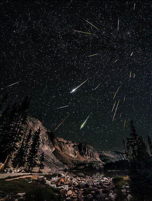 Snowy Range Perseids Meteor Shower in Wyoming