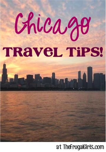 Planning a trip to Chicago?? Check out these Fun Chicago Travel Tips, shared by your frugal friends on The Frugal Girls Facebook page... A special thanks to frugal friend Mary for sharing this fun ...