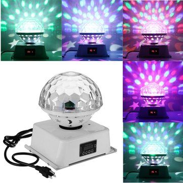 18W DMX512 6 LED RGB <b>Stage Light</b> Magic Ball Laser Light for Bar ...