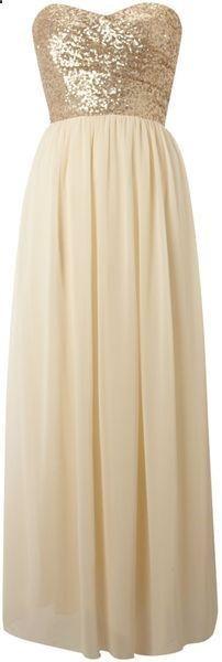 sequin top maxi dress | gold bridesmaids dress | metallic bridesmaids dress