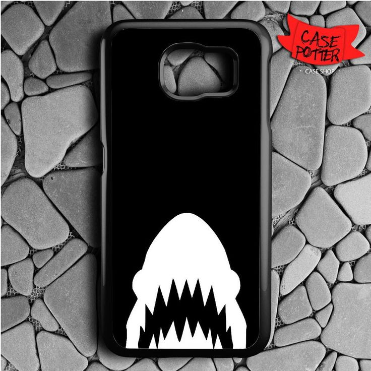 Shark Silluet Samsung Galaxy S6 Black Case