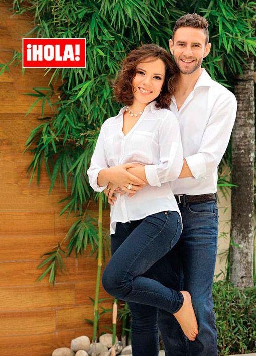 Se acabó la espera, ¡Miguel Layún y Ana Laura Galván ya son papás!