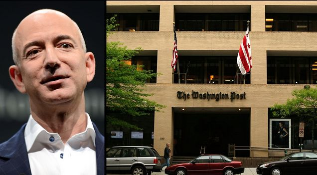 #iLiftTV — Создатель Amazon(Джефф Бэзос) купил медиа — The Washington Post за $250 млн