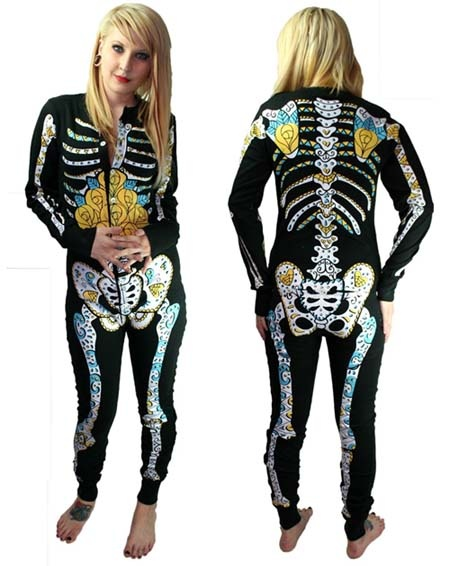 Day Of The Dead Pajamas Super Cute