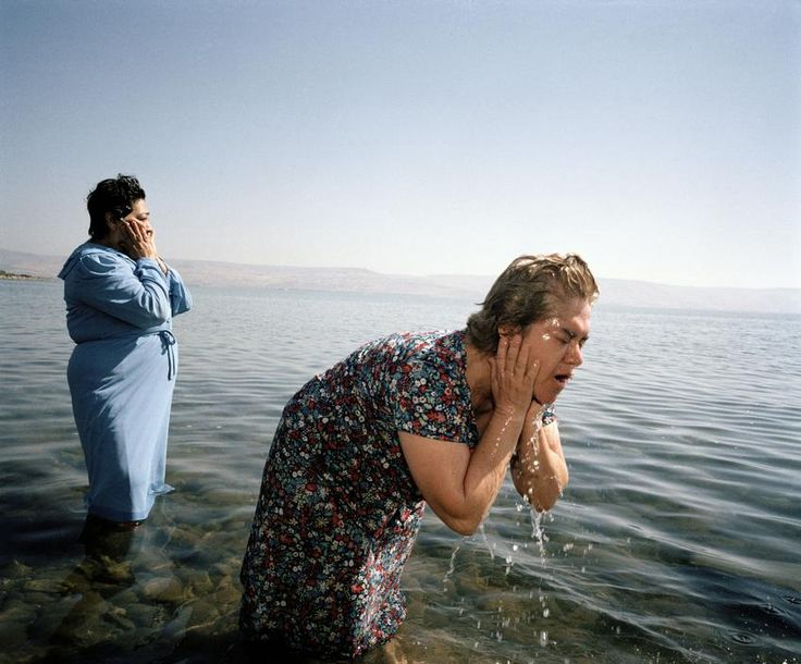 """ISRAEL. The sea of Galilee. 1986 Martin Parr, """"Small World"""""""