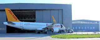 Bacăul economic: Premieră europeană la Aerostar: revizie la un avio...