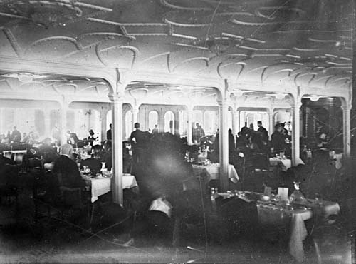 first class dining room titanic pinterest