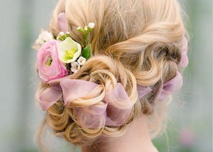 一番可愛い花嫁ヘア♡!海外風のゆるふわ感たっぷりなまとめ髪アレンジ10選♩のトップ画像