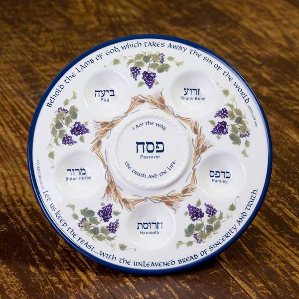 What is Passover?  Seder Plate & Cup for celebrating Passover - INCLUDES list of Books to Read about the Passover story ~by HowToHomeschoolMyChild.com
