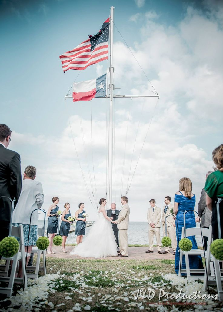 chrystal and kyles wedding on the beach in kemah tx texasweddingvenues