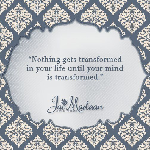 Nothing gets transformed in your life until your mind is transformed. #QOTD #Inspiration https://t.co/qlIyR3py4O