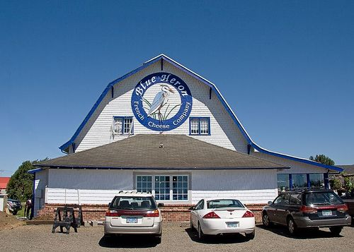 Blue Heron French Cheese Company...not too far from Tillamook Cheese Factory. #Oregon