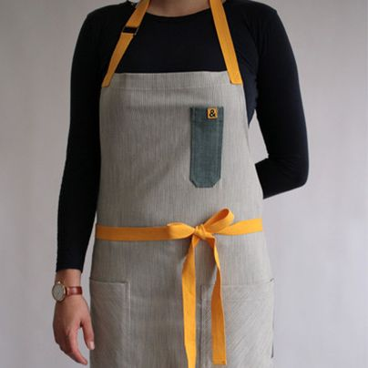 More rugged than retro, more functional than frilly, today's handcrafted chef's aprons would be just as at home in a workshop as a kitchen—and we're kind of obsessed with them. Check out our favorites.