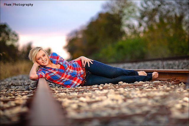 Kendra Senior ~ The Abandoned Railroad by ~Phamster~, via Flickr