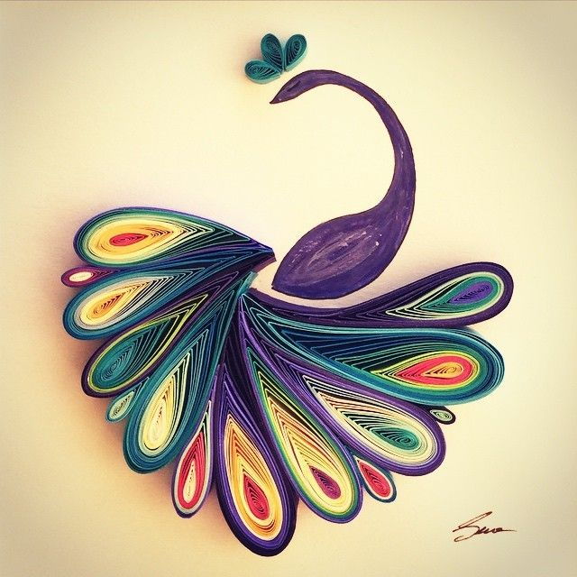 Sean Runa -Rolling Up Paper Makes Beautiful Art