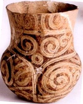 vas, Cucuteni (Drăguşeni, 4500-4100 î. Hr.),