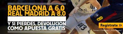 betfair el clasico acb barcelona cuota 6 real madrid a 8 28 diciembre