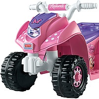 """Power Wheels Fisher-Price 6 Volt Lil Quad Ride On - Minnie Mouse - Power Wheels - Toys """"R"""" Us"""