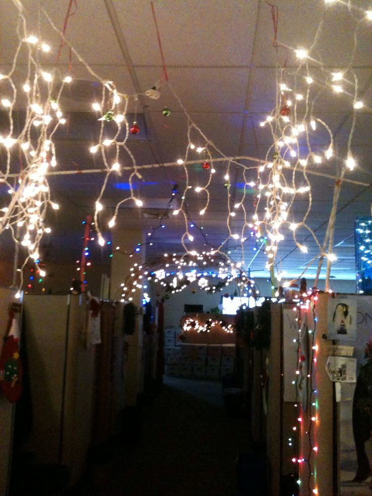 Winter wonderland cubicles work ideas pinterest