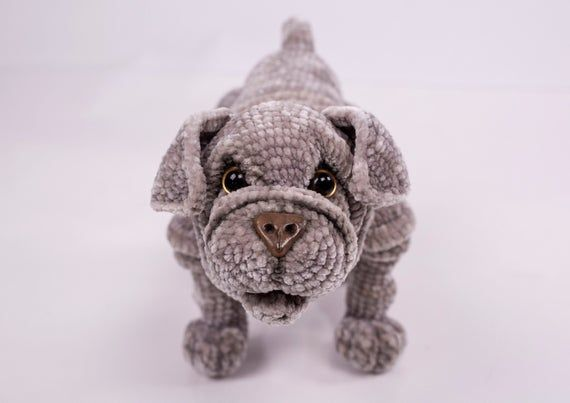 Mastiff Pooch Amigurumi | | 403x570