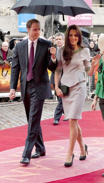 Kate Middleton Photos - The Duke And Duchess Of Cambridge Attend African Cats - UK Premiere in Aid of Tusk - Zimbio