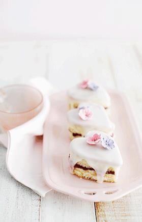 Tea Time. Beautiful little tea cakes