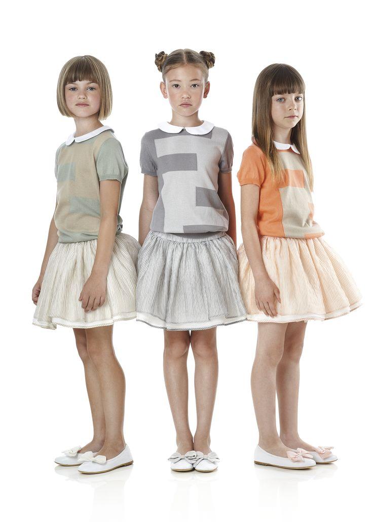 Fendi Junior Spring Summer 2014 Collection Look 3 Maria