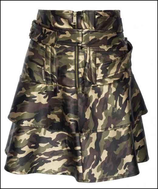 Preciosa #falda #camuflaje de #HighlyPreppy disponible en la #tienda #online de #ropa #MaribelFernández. ¿Te gusta?