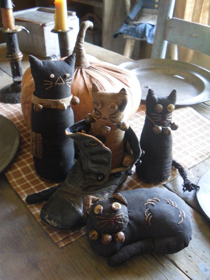 Schneeman cats ~ love