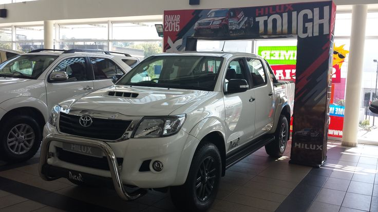 #Toyota #Hilux #Dakar is here at our dealership