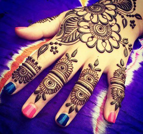1000 ideas about henna flower designs on pinterest