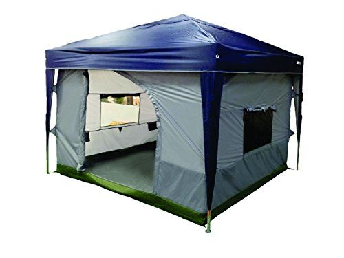 NTK TRANSFORM C&ing Tent attaches to any 10u0027x10u0027 Easy Up Pop Up Canopy  sc 1 st  Pinterest : easy ups tents - memphite.com